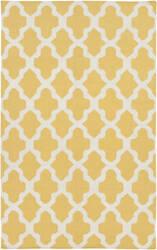Surya York Olivia Yellow/White Area Rug