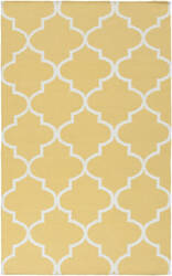 Surya York Mallory Yellow/White Area Rug