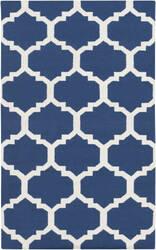Surya York Harlow Blue/White Area Rug