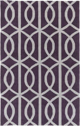 Surya Holden Zoe Purple - Ivory Area Rug
