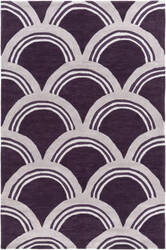 Surya Holden Sienna Purple - Ivory Area Rug