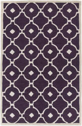 Surya Holden Hazel Purple - Ivory Area Rug