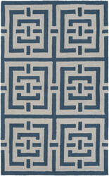 Surya Impression Libby Blue - White Area Rug