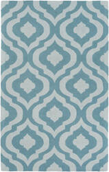 Surya Impression Whitney Teal - Ivory Area Rug