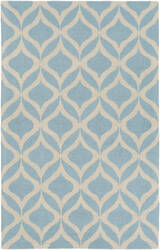 Surya Impression Addy Light Blue - Ivory Area Rug