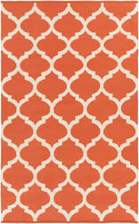 Surya Vogue Everly Coral/White Area Rug