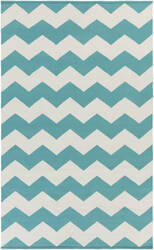 Surya Vogue Collins Teal/White Area Rug