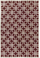 Surya Transit Madison Red - Ivory Area Rug