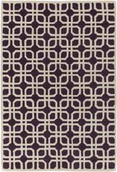 Surya Transit Madison Purple - Ivory Area Rug