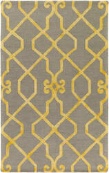 Surya Organic Amanda Light Grey - Yellow Area Rug