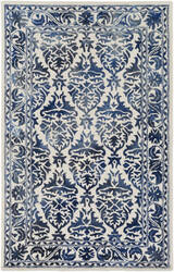 Surya Organic Evelyn Navy - Off-White Area Rug