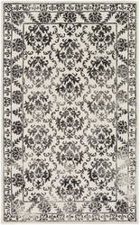 Surya Organic Aubrey Charcoal - Off-White Area Rug