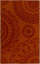 Surya Pollack Sloane Orange Area Rug