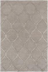 Rugstudio Sample Sale 137593R Gray - Metallic Area Rug