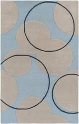 Surya Venus Samantha Light Blue - Beige Area Rug