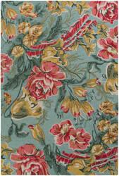 Surya Botany Paisley Multi-Colored Mint Area Rug