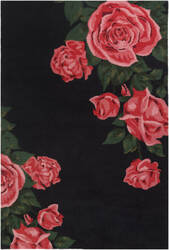 Surya Botany Cora Red Area Rug