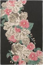 Surya Botany Emilia Bot2486 Multi-Colored Pink Area Rug