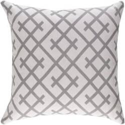 Surya Ethiopia Pillow Kenya Etpa7218 Light Gray