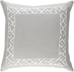 Surya Ethiopia Pillow Rwanda Etpa7221 Light Gray