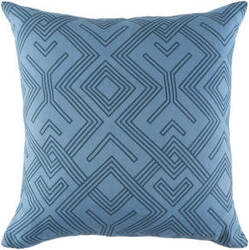 Surya Ethiopia Pillow Sudan Etpa7236 Denim Blue
