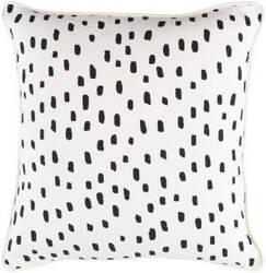 Surya Glyph Pillow Dalmatian Dot White - Black