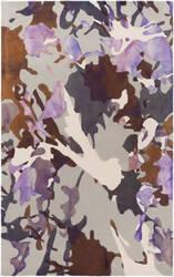 Surya Geology Lucas Purple Area Rug