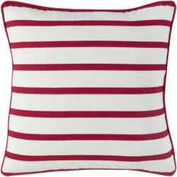Surya Holiday Pillow Peace Holi7265 Crimson Red