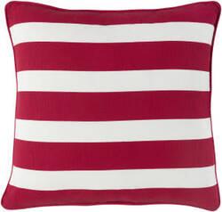 Surya Holiday Pillow Jolly Holi7266 Crimson Red