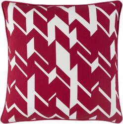 Surya Holiday Pillow Hope Holi7269 Crimson Red