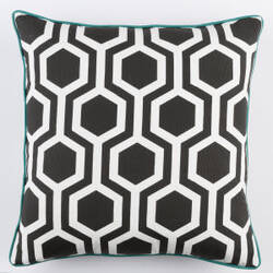 Surya Inga Pillow Thea Black - White