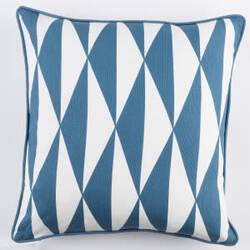 Surya Inga Pillow Clara Blue - White