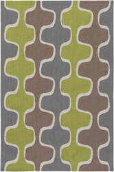 Surya Joan Clermont Lime - Gray - Taupe Area Rug