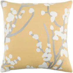 Surya Kingdom Pillow Anna Yellow - Gray - White