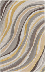 Surya Lounge Carmen Grey - Gold Area Rug
