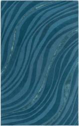 Surya Lounge Carmen Teal - Dark Blue Area Rug