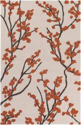 Surya Marigold Caroline Poppy Red - Ivory - Slate Area Rug