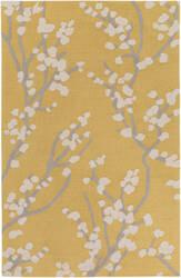 Surya Marigold Caroline Yellow - Gray - Ivory Area Rug