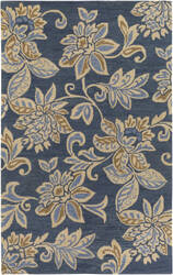 Surya Rhodes Elsie Blue - Off-White Area Rug