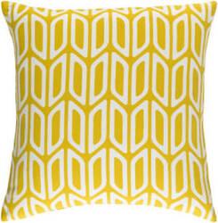 Surya Trudy Pillow Nellie Yellow - White