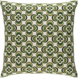 Surya Trudy Pillow Rosa Olive Multi