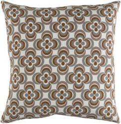 Surya Trudy Pillow Rosa Gray Multi