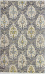 Bashian Artifact A154-Ar101 Grey Area Rug