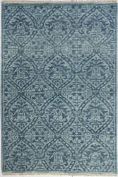 Bashian Artifact A154-Ar107 Teal Area Rug