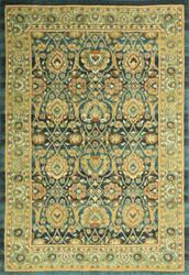 Bashian Buckingham B125-T015a Teal Area Rug
