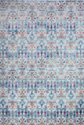Bashian Charleston C186-Ro31a Light Blue Area Rug