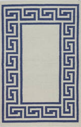 Bashian Hampton D105-Fw18 Ivory - Blue Area Rug