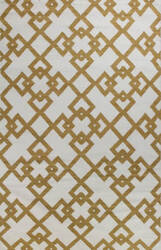 Bashian Hampton D105-Fw3 Ivory - Gold Area Rug