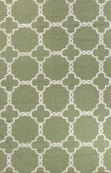Bashian Hampton D105-Fw7 Light Green Area Rug