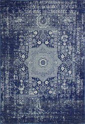 Bashian Everek E110-5438a Dark Blue Area Rug